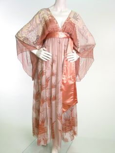 Zandra Rhodes dress ca. 1974 via Manchester City Galleries