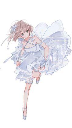 Anime Chibi, 5 Anime, Anime Girl Drawings, Anime Artwork, Anime Angel, Kawaii Anime Girl, Anime Art Girl, Anime Girls, Pretty Art