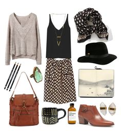 """""""Untitled #341"""" by the59thstreetbridge ❤ liked on Polyvore featuring mode, Marni, TIBI, Madewell, kangol, Mi Asunta en Better Late Than Never"""