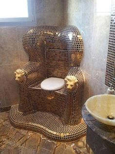 Everyone needs a gold throne! I'd say someone has a good sense of humor.