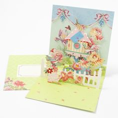 Flowers & Birds Pop-Up Price $6.95