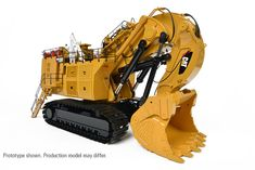 Caterpillar 6090 FS Hydraulic Shovel [CCM 1:48] Toys In The Attic, Welding Rigs, Tonka Toys, Tacoma Toyota, Toyota 4runner, John Deere Tractors, Model Train Layouts, Jeep Truck, Toy Trucks