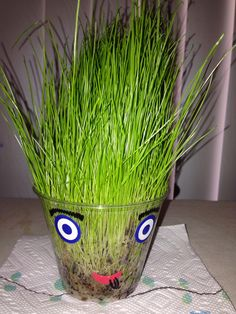 how to make grass heads