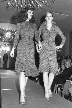Diane Von Fürstenberg Fashion Show Fall Winter 1975 Topics The Red