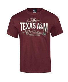 Texas A M Aggies Blue 84 Youth Absolute 2017 Men s CWS Basic Tee. Maroon U 059c24876