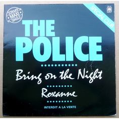 "12"" inch, maxi single, The Police, ""Bring On The Night"" (1979)"