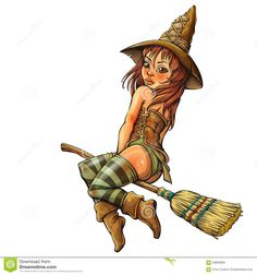 Little Witch - Download From Over 39 Million High Quality Stock Photos, Images, Vectors. Sign up for FREE today. Image: 63883839