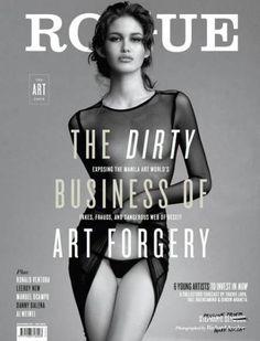 Rogue Magazine Model Pauline Prieto is Rogue's cover girl Rogue Magazine, Girls Magazine, Cool Magazine, Editorial Layout, Editorial Design, Editorial Fashion, Magazine Layout Design, Magazine Cover Design, Magazine Covers