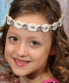 Love this Vintage Pearl & Gem Headband by Chicky Chicky Bling Bling on #zulily! #zulilyfinds