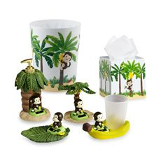 Motion Monkey Bath Ensemble: if i'm ever blessed with kids, this is going in their bathroom