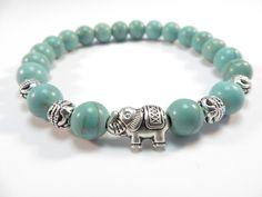 Sacred Elephant Healing Mala BraceletYoga by HVart on Etsy, $23.95