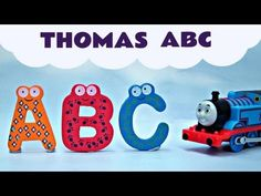 ▶ ABC Song Alphabet A-Z Thomas And Friends Kids Train Toys Thomas The Tank Engine - YouTube