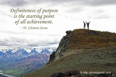 View Full Size x Definiteness of purpose is the starting point of all achievement. Personal Growth Quotes, Tough Love, Life Motivation, Good Thoughts, Life Lessons, Spirituality, Wisdom, Stone, Sayings