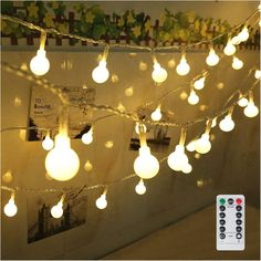 Lovely 100 Leds Solar String Lights 4 Light Colors 8 Modes Ambiance Lighting Outdoor Patio Lawn Party Decor Lamp High Quality And Low Overhead Security & Protection Access Control
