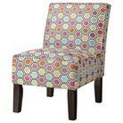 Burke Armless Slipper Chair - Multicolored Geometric Target