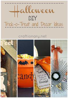 halloween candy crafts ideas | Cute Halloween Craft Ideas - Craftionary