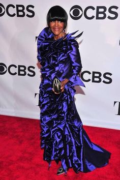 """Cicely Tyson, who returned to Broadway this season for the first time in 30 years, took home the Tony Award for best leading actress in a play on Sunday night in New York.""""The Trip to Bountiful"""" at the 67th annual Tony Awards at Radio City Music Hall on June 9, 2013, in New York"""