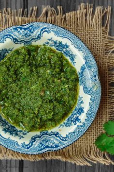 All-star Middle Eastern spicy cilantro pesto that is fragrant and delicious. Versatile sauce to add to your sandwiches, grilled meats, soups and more!