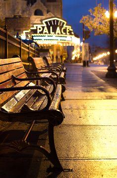 Rainy Night at The Palace by Paul Jolicoeur, Albany, NY, via 500px