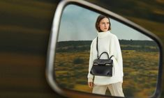 Hit the raod with Delvaux's Fall essentials, the ideal travel companion. #Delvaux #DelvauxAW21 #DelvauxPin Zabriskie Point, Calf Leather, Calves, Actors, Ad Campaigns, Film, Model, Essentials, Travel
