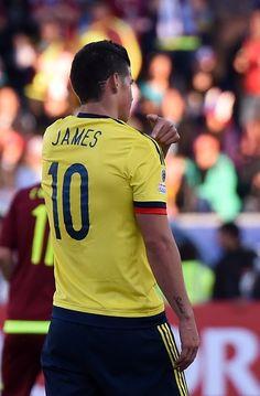 James Rodriguez Colombia vs Venezuela . Copa America Chile 2015 June 14, 2015 #footballislife