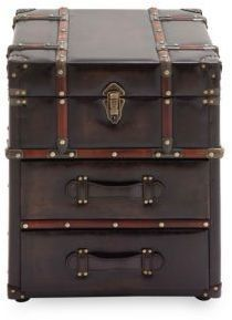 Stacked Steamer Trunk