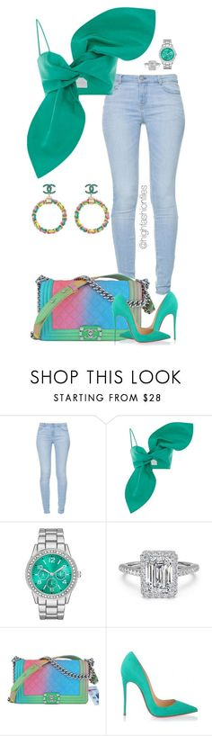 """""""Untitled #2738"""" by highfashionfiles ❤ liked on Polyvore featuring Zara, Chanel and Christian Louboutin"""