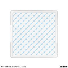 Blue Pattern Vanity Tray Available on many more products! Type in the name of this design in the search bar on my Zazzle products page!   #abstract #art #pattern #design #color #accessory #accent #zazzle #buy #sale #bathroom #home #decor #bedroom #duvet #cover #shower #curtain #toothbrush #soap #dispenser #amenities #blanket #throw #accent #living #modern #chic #contemporary #style #life #lifestyle #minimal #simple #plain #minimalism #square #line #white #blue