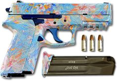 Just because it's concealed doesn't mean it has to be ugly. PinkGun.com offers an online tool to decorate and personalize a gun of your choice. Once you ar