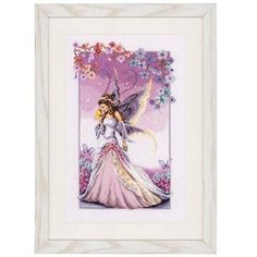 Vervaco® Lilac Fairy Counted Cross-Stitch Kit