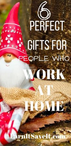 Gifts for family or friends who work at home can be tough to find. Problem solved!