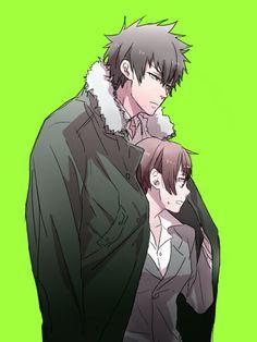 Psycho Pass (Kougami y Akane) Manga Love, I Love Anime, Anime Guys, Fan Anime, Anime Manga, Anime Art, Psycho Pass, Nalu, Cute Kawaii Girl