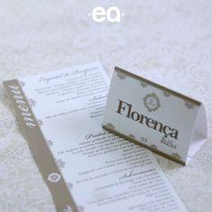 Número de mesa com cidades e menus para casamento. Orçamentos e pedidos pelo e-mail contato@efeitoearte.com.br