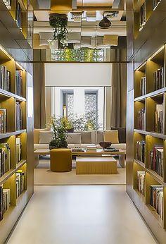 Biblioteca de Bruno Gap é destaque na Casa Cor SP 2015 (tempodadelicadeza)