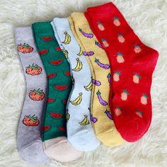 Купить товар Прекрасные фрукты мультфильм шаблон шерстяные носки для женщин мило зима теплые носки для тапочки носки оптовая продажа в категории Носки на AliExpress. Хотя китайский Весенний фестиваль приближается, мы все еще можем отправлять заказ. Некоторые зака