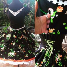 Floral, Skirts, Blog, Dresses, Fashion, Folklorico Dresses, Role Models, Briefs, Folklore