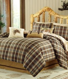 Woolrich® 7-Piece Hadley Bedding Set, Bedding, Bed & Bath, Home & Cabin : Cabela's - love the bedding!
