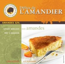 Delice de lAmandier Provencal French Almond Flourless Cake 85 oz >>> Learn more by visiting the image link. (This is an affiliate link) Gluten Free Almond Cake, Almond Cakes, Gluten Free Cakes, Gluten Free Recipes, French Cookies, Flourless Cake, French Food, Sans Gluten, Afternoon Tea