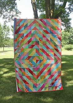 Warm/Cool Quilt | Flickr - Photo Sharing!