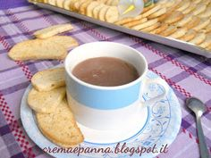 crema e panna: Cioccolata calda in tazza al microonde