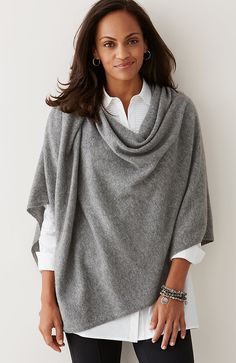 luxe wool & cashmere wrap