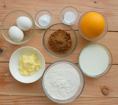 All the ingredients for my sugar free orange cake. Coconut Sugar, Almond Milk, Orange Orange, Orange Color, Hand Juicer, Cinnabon, Moon Cake, Baking Tins, Sugar Free Recipes