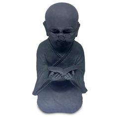 Escultura Monge Budista Leitor 45cm - https://www.artesintonia.com.br/escultura-monge-budista-leitor-45cm
