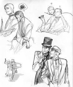 John hits Sherlock/ poka-poka style by Atharple on DeviantArt Sherlock Bbc, Sherlock Holmes John Watson, Mycroft Holmes, Dr Watson, Sherlock Fandom, Sherlock Drawing, Disneysea Tokyo, Holmes Movie, Elementary My Dear Watson
