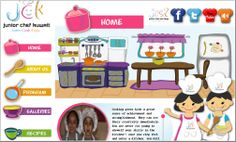 Junior Chef Kuwait - Website Design Company Portfolio