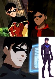 It was wrong for me to have a crush on Dick Grayson when he was snarky, smirky, 13 year old Robin (I said it was inappropriate, I didn't say that stopped me...) but now he's legal. And I want to know where I can get that suit for my husband. #YoungJustice