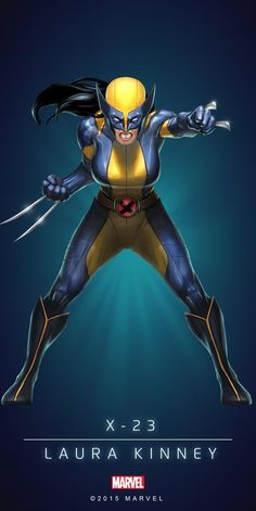 Marvel Puzzle Quest All-New Wolverine Marvel Comic Universe, Marvel Comics Art, Bd Comics, Comics Universe, Marvel Heroes, Comic Movies, Comic Book Characters, Comic Book Heroes, Comic Books