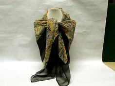 Stunning Vintage Glentex All Silk Scarf / by CatzShinySmiles