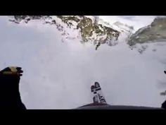 Супер спуск на лыжах