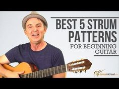 Strum Pattern For Beginners | 5 Best Guitar Strumming Patterns You Must Learn How to Play  http://www.tomasmichaud.com/best-5-strum-patterns-beginning-guitar/